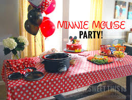 minnie mouse party minnie mouse party how sweet this is