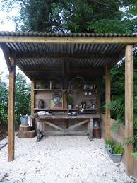 outdoor kitchen ideas on a budget rustic outdoor kitchen design ideas patio with pergola and fence i g