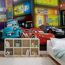 Cars Wall Mural by Disney Cars Lightning Mcqueen Wall Paper Mural Buy At Europosters