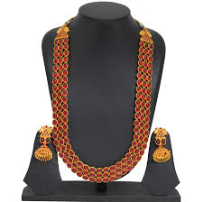 Buy Kasu Mala Lakshmi Ji 1gram Gold Necklace Online 1gram Gold Jewellery Online India