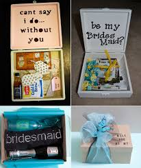 asking bridesmaid gifts picks on paper will you be my bridesmaid gift ideas