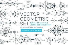 vector geometric ornaments illustrations creative market