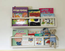 Book Shelves For Kids Rooms by Book Shelves Etsy