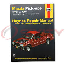 mazda b2200 haynes repair manual sundowner base le 5 se 5 lx dlx