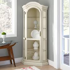 how to arrange a corner china cabinet shelia corner curio cabinet