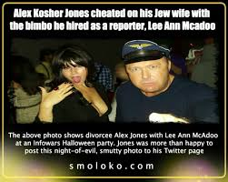 Meme Cheating Wife - alex jones cheated on his jew wife and got divorced smoloko