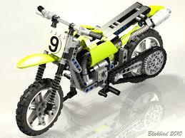 lego technic motocross bike lego technic motorcycles renders by blakbird