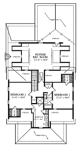 craftsman style house plan 4 beds 4 baths 2802 sq ft plan 137