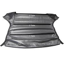 bmw e36 headliner charcoal 3 tube full length