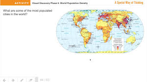 World Population Density Map Population Density Map Introduction Youtube