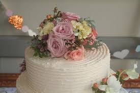 simple wedding cake with yellow roses picture of flirt with
