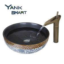 bathroom sink retro faucet sink and faucet vessel faucets 8 inch