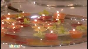 candle arrangements thing floating flower and candle arrangement martha