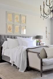 bright white bedroom styled for spring decor gold designs