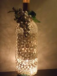 Upcycled Wine Bottles - turn a wine bottle into a lighting accent other ways to upcycle