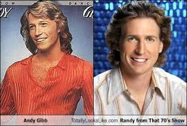 That 70s Show Meme - andy gibb totally looks like randy from that 70 s show