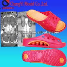 lady 2014 two color combination eva slippers injection mould view