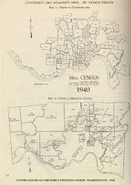 Census Tract Maps 1940 Census Tracts Indiana University Libraries