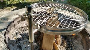 Fire Pit Grille by Camerons Open Fire Pit Grill Review Active Gear Review