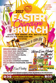 easter sunday champagne brunch old world german restaurant
