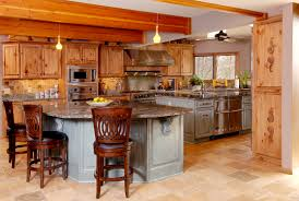 Knotty Pine Kitchen Cabinets For Sale Knotty Pine With Brown Kitchens The Most Impressive Home Design
