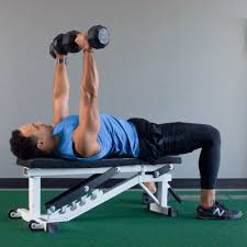 Bench Pressing With Dumbbells 7 Best Chest Exercises For Men