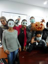 creative halloween costumes and masks by access students access sfax