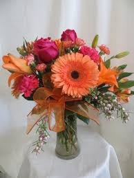gerbera bouquet your webster florist for hot pink flowers