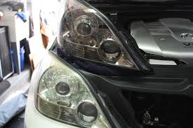 lexus is300 headlight assembly replaced oem headlights with depo sport package headlights