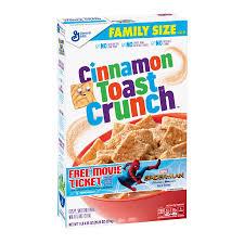 cuisine de a 0 z cinnamon toast crunch cereal 20 25 oz walmart com