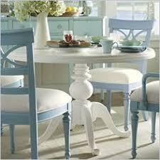 stanley pedestal dining table coastal cottage pedestal dining tables in aqua yahoo image search