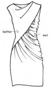 Draping Designs Best 25 Draped Dress Ideas On Pinterest Black Cocktail Dress