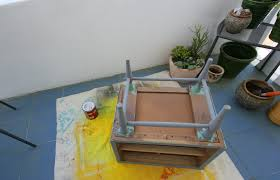 Paint Wood Furniture by Thrift Store Table Makeover Paint Wood Furniture C R A F T