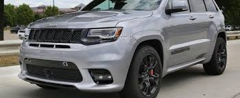 jeep cherokee grey 2017 jeep expected to debut grand cherokee trackhawk at 2017 new york