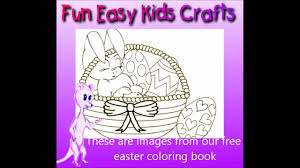 free easter coloring pages youtube