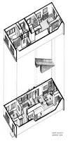 Floor Plan And Perspective Karen Kalafat Portfolio Interior Design Residential Design