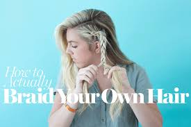 haircuts with flip behind the ear how to braid hair 8 cute diy hairstyles for every hair type glamour