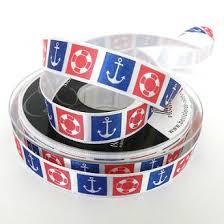 Nautical Themed Ribbon - nautical ribbon online always knitting u0026 sewing shop