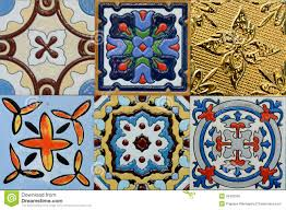 morroco style spanich moroccan style vintage ceramic tile royalty free stock