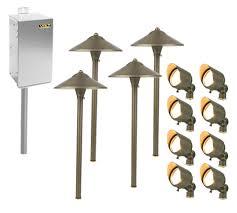 Led Low Voltage Landscape Light Bulbs - low voltage landscape lighting kits with garden lights outdoor