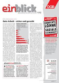 Schreibtisch Eckl Ung Einblick 2012 By Einblick Dgb Infoservice Issuu
