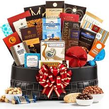 high end gift baskets toast of broadway gourmet gift basket high end gifts
