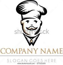 logo chef de cuisine chef on canteen free vector stock graphics images