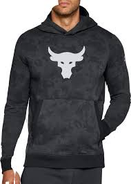 armour sweater armour s project rock threadborne pullover hoodie