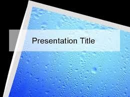 water sports powerpoint template