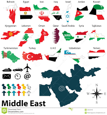 The Middle East Map by Maps Of Middle East Royalty Free Stock Photos Image 35634548