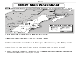 french and indian war worksheet free worksheets library download