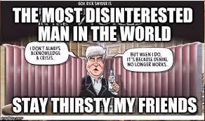 Stay Thirsty Meme - flint imgflip