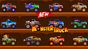 monster truck racing video monster truck go racing truck for kids car driving for kids