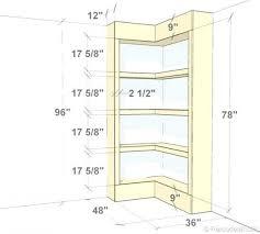 Bookshelves Cherry - thegamersforce com page 15 cherry wood corner bookcase quarter